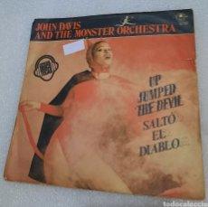 Discos de vinilo: JOHN DAVIS AND THE MONSTER ORCHESTRA - UP JUMPED THE DEVIL ( SALTO EL DIABLO ). Lote 254756870