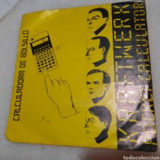 Discos de vinilo: KRAFTWERK - CALCULADORA DE BOLSILLO ( POCKET CALCULATOR ). Lote 254757635