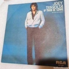 Discos de vinilo: JOEY TRAVOLTA - IS THIS LOVE. Lote 254758155