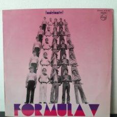 Discos de vinilo: FORMULA V. ¡.ADELANTE! PHILIPS. 1970. FUNDA VG++/ DISCO VG+ / VG NUMEROSAS MARCAS PERO SUPERFICIALES. Lote 254765720