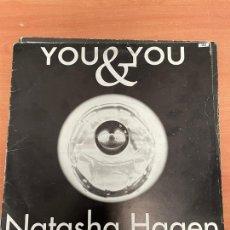 Discos de vinilo: YOU & YOU. NATASHA HAGEN. LP VINILO. BLANCO Y NEGRO MUSIC. 1997. Lote 254765935