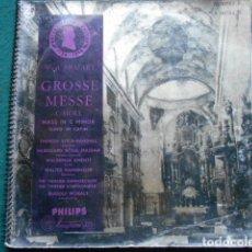 Discos de vinilo: GROSSE MESSE MOZART PHILIPS 10 PULGADAS. Lote 254767920