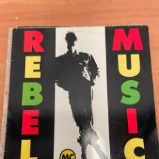 Discos de vinilo: REBEL MUSIC BY REBEL MC. Lote 254768000