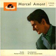 Discos de vinilo: MARCEL AMONT - RUEDAS - EP SPAIN 1961 - POLYDOR 21 790 EPH. Lote 254771650