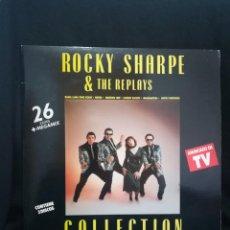 Discos de vinilo: 2XLP GATEFOLD ROCKY SHARPE & THE REPLAYS - COLLECTION, 1990 ESPAÑA. Lote 254775575