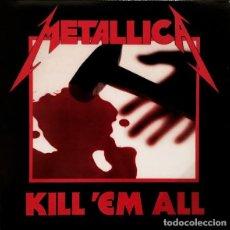 Discos de vinilo: METALLICA – KILL 'EM ALL -LP / VERTIGO.. Lote 289850233