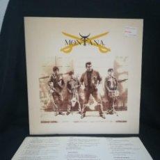 Discos de vinilo: DISCAZO LP MONTANA - MONTANA (LP)1989 ESPAÑA, COMO NUEVO. Lote 254776590