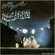 Discos de vinilo: GATO PEREZ - LUNA BRAVA / EL BRILLO - SG PROMO SPAIN 1983 - EMI – 004 1219417. Lote 254778875