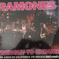 Discos de vinilo: RAMONES – STRENGHT TO ENDURE -LP-. Lote 254782160