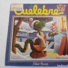 Discos de vinilo: CUELEBRE/LA NUECHI D'AMOR/SINGLE.. Lote 254787780