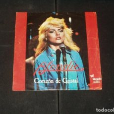 Discos de vinilo: BLONDIE SINGLE CORAZON DE CRISTAL. Lote 254788530