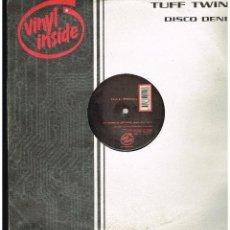 Discos de vinilo: TUFF TWINS - DISCO DENIM - MAXI SINGLE 1999 - ED. HOLANDA. Lote 254788655