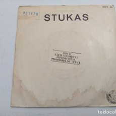 Discos de vinilo: STUKAS/REINAS DE LA NOCHE-TE ESTOY MIRANDO/SINGLE PROMOCIONAL.. Lote 254788770
