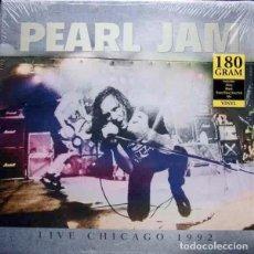 Discos de vinilo: PEARL JAM LIVE CHICAGO • 1992 (LP) . VINILO DIRECTO GRUNGE ROCK AND ROLL. Lote 254789890