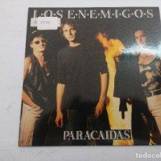 Discos de vinilo: LOS ENEMIGOS/PARACAIDAS/SINGLE.. Lote 254791155