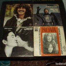 Discos de vinilo: LOTE 7 SINGLES BEATLES EN SOLITARIO (LENNON, PAUL,RINGO Y HARRISON). Lote 254792345