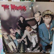 Discos de vinilo: THE MEMBERS - UPRHYTHM, DOWNBEAT - LP. SELLO ARISTA 1982. Lote 254795750