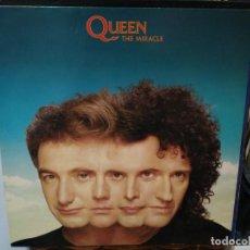 Discos de vinilo: QUEEN - THE MIRACLE - LP. SELLO EMI 1989. Lote 254797235