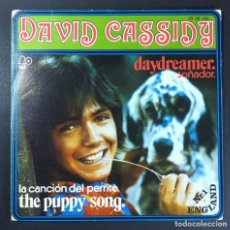 Discos de vinilo: DAVID CASSIDY - DAYDREAMER / THE PUPPY SONG - SINGLE 1973 - BELL. Lote 254797360
