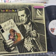 Discos de vinilo: THE KINKS MAXI LOST & FOUND ESPAÑA 1987. Lote 254797715