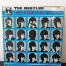 Discos de vinilo: THE BEATLES. A HARD'S DAYS NIGT. 1964. SPAIN.. Lote 254798640