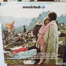 Discos de vinilo: WOODSTOCK - MUSIC FROM THE ORIGINAL SOUNDTRACK AND MORE - TRIPLE LP. DEL SELLO COTILLION 1970. Lote 254799745