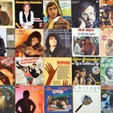 Discos de vinilo: LOTE 20 SINGLES INTERNACIONAL VARIADO. Lote 254800095