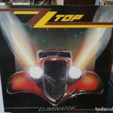 Discos de vinilo: ZZ TOP - ELIMINATOR - LP. SELLO WEA RECORDS 1983. Lote 254801435