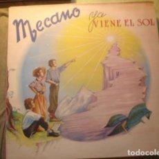 Discos de vinilo: MECANO YA VIENE EL SOL. Lote 254804125