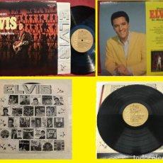 Discos de vinilo: ELVIS PRESLEY - FROM ELVIS IN MEMPHIS 1969 - RARA EDIC USA + RCA ENCARTE, TODO IMPECABLE !!. Lote 254805150