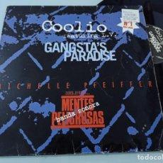 Discos de vinilo: MICHELLE PFEIFFER - MENTES PELIGROSAS - BANDA SONORA ..MAXISINGLE - COOLIO FEATURING L.V. Lote 254809455