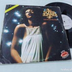 Discos de vinilo: DONNA SUMMER - LOVE TO LOVE YOU BABY ..LP DE 1975 SONIDO DISCO - ARIOLA - EXITO MUNDIAL. Lote 254809955