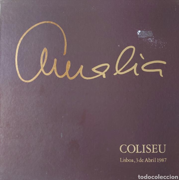 AMALIA RODRIGUES CAJA CON 3 LPS. CONCIERTO EN EL TEATRO COLISEU DE LISBOA 3 DE ABRIL 1987 (Música - Discos - LP Vinilo - Étnicas y Músicas del Mundo)
