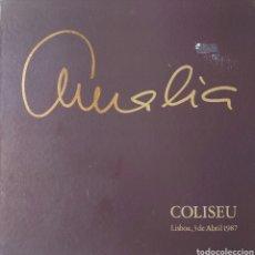 Discos de vinilo: AMALIA RODRIGUES CAJA CON 3 LPS. CONCIERTO EN EL TEATRO COLISEU DE LISBOA 3 DE ABRIL 1987. Lote 254810135