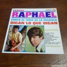 Discos de vinilo: RAPHAEL - DIGAN LO QUE DIGAN - EDITADO EN VENEZUELA. Lote 254812345