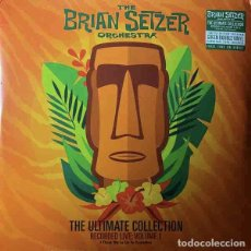 Discos de vinilo: THE BRIAN SETZER ORCHESTRA THE ULTIMATE COLLECTION RECORDED LIVE: VOL. 1 (2XLP). Lote 254813515