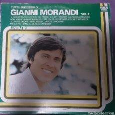 Discos de vinilo: PACK DE 2 VINILOS GIANNI MORANDI VOL.2 Y LA MIA NEMICA AMATISSIMA. Lote 254816950