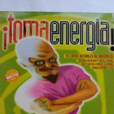 Discos de vinilo: TOMA ENERGIA 1994 15 EXITOS NON STOP-FREDDIE MERCURY-REEL 2 REEL-LUCIANO-MAGIC AFFAIR-BLUE SWEDE.... Lote 254816970