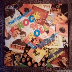 Discos de vinilo: 32 ENGLISH ROCK N ROLL CLASSICS - LP DOBLE - GATEFOLD. Lote 254817160