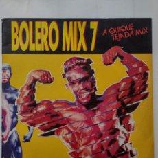 Discos de vinilo: BOLERO MIX 7 -QUIQUE TEJADA MIX -SNAP-MC SAR-HI POWER-BIZZ NIZZ-KLF-GURU JOSH-TWENTY 4 SEVEN. Lote 254817200