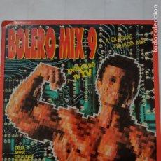Discos de vinilo: BOLERO MIX 9 -QUIQUE TEJADA MIX-QUASIMODO-SNAP-2 UNLIMITED-DR ALBAN-FELIX-ELLEGIBO-PLEXUS.... Lote 254817705