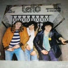 Discos de vinilo: LEÑO-ESTE MADRID-APRENDIENDO A ESCUCHAR-MUY BUEN ESTADO. Lote 254817890