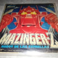 Discos de vinilo: MAZINGER-Z-EL ROBOT DE LAS ESTRELLAS-VERSION ORIGINAL. Lote 254818995