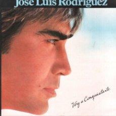 Disques de vinyle: JOSE LUIS RODRIGUEZ - VOY A CONQUISTARTE / LP EPIC 1984 / FALTA EN CARATULA RF-9488. Lote 254819500