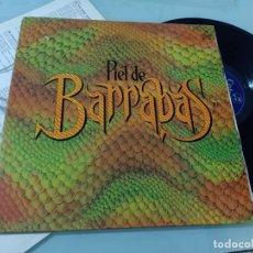 Discos de vinilo: BARRABAS - PIEL DE BARRABAS..LP DE PORTADA ABIERTA - COLUMBIA - CON LETRAS .. ED - ORIGINAL DE 1981. Lote 254821205