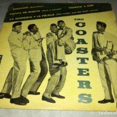 Discos de vinil: THE COASTERS-THUMBIN' A RIDE-WAIT A MINUTE-ORIGINAL ESPAÑOL 1961. Lote 254821310