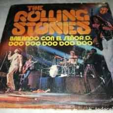 Discos de vinilo: THE ROLLING STONES-DOO DOO DOO DOO DOO-BAILANDO CON EL SEÑOR D-ORIGINAL ESPAÑOL 1974. Lote 254823570