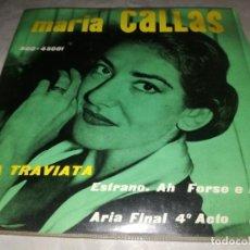Discos de vinilo: MARIA CALLAS-LA TRAVIATA-ORIGINAL ESPAÑOL 1960. Lote 254824525