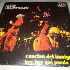 Discos de vinilo: LED ZEPPELIN-CANCION DEL INMIGRANTE-ORIGINAL ESPAÑOL 1970. Lote 254824725