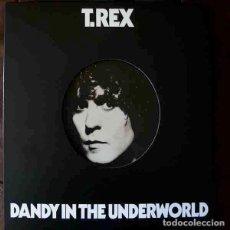 Discos de vinilo: T. REX DANDY IN THE UNDERWORLD (LP) . REEDICIÓN VINILO GLAM MARC BOLAN ROCK. Lote 254825650